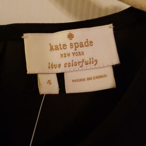 KATE SPADE sleeveless bow top size 4